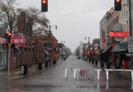 Beale Street Shut Down