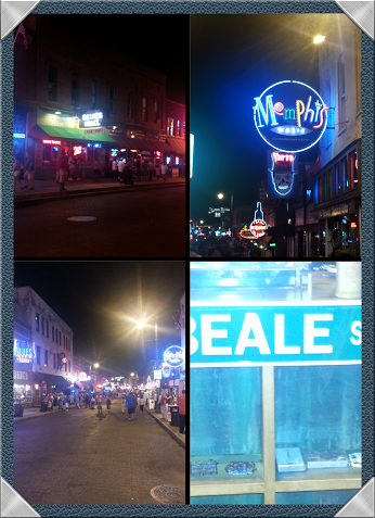 Good times on Beale St.