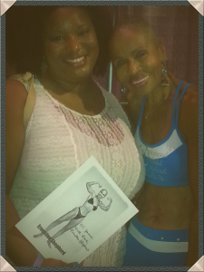 Me and Bodybuilder Ernestine Shepherd!