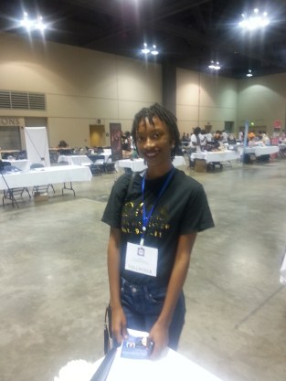 BWABC had wonderful volunteers who would monitor our vendor tables when we had to step away. Kayla was so sweet and helpful!